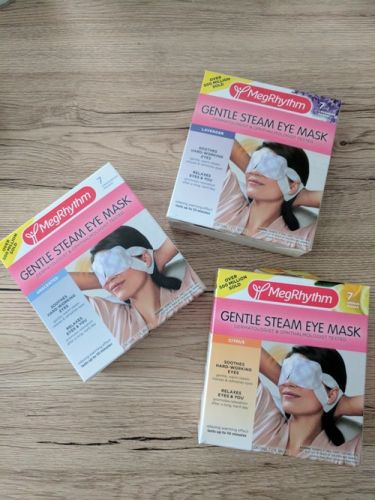 This MegRhythm Steam Eye Masks Review Shows How They Cured My Allergy Face In 10 Minutes