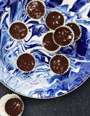 On The Menu: Chocolate Peppermint Honey Cups
