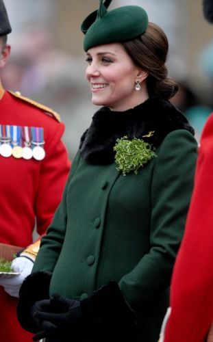 Photos Of Kate Middleton's St. Patrick's Day Outfit Will Inspire You To Get Festive