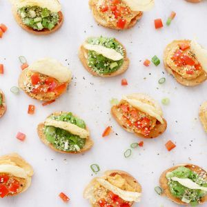 QUICK & EASY APPETIZER FOR POTATO CHIP LOVERS