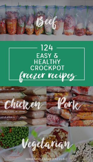 124 Easy and Healthy Crockpot Freezer Recipes