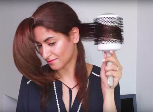 A new way to blowdry your hair for mega volume