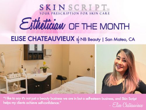 Esthetician of the Month | Elise Chateauvieux