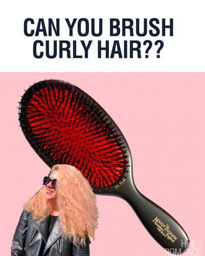 Can you Brush Curly Hair?