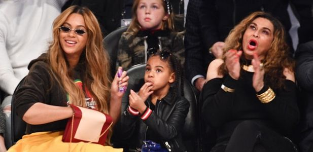 This Video Of Blue Ivy Telling Beyonce's Mom A Corny Joke Is Literally Too Adorable