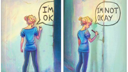 Artist Channels How Depression Feels Into Beautiful Drawings