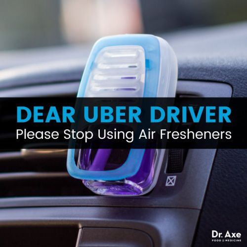 Dear Uber Driver, Please Stop Using Air Fresheners Immediately