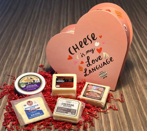 This Heart-Shaped Wisconsin Cheese Box Giveaway For Valentine's Day 2021 Is Amazing