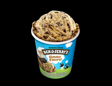 Ben & Jerry's New Gimme S'more Ice Cream Flavor Is Perfect For Summer Campfires