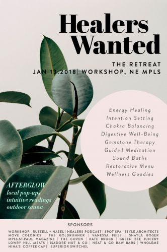 HEALERS WANTED MPLS: JOIN US FOR A DAY OF SPIRITUAL AWAKENING & LIFE TRANSFORMATION