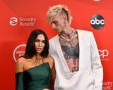 Blink and You May Have Missed Megan Fox and Machine Gun Kelly's Matching AMAs Manicures