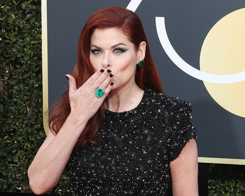 Will & Grace's Debra Messing Shares Some Skin And Hair Tips