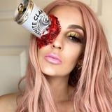 It Was Only a Matter of Time: White Claw Halloween Makeup Is Taking Over Instagram