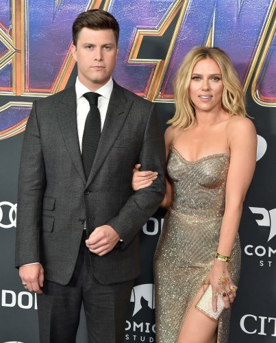 Scarlett Johansson's 'SNL' Monologue With Colin Jost Ended With A Sweet Kiss