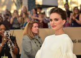Natalie Portman's Stunning SAGs Look Proves Silicone Sponges Are Worth the Hype