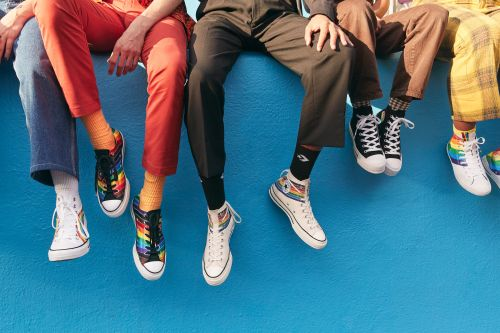 The Converse Pride 2020 Collection Lets You Celebrate With Customizable Options