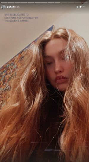 Gigi Hadid Is Now a Redhead-And the Reason Why Is So Relatable
