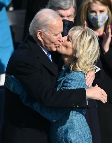 Joe & Jill Biden's Inauguration Day 2021 Body Language Was So Emotional