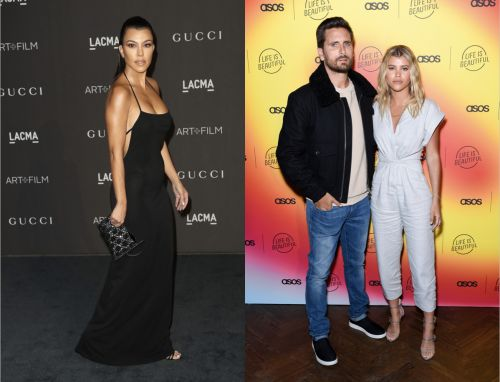 Kourtney Kardashian's Quote About Her Relationship With Sofia Richie & Scott Disick Is Adorable