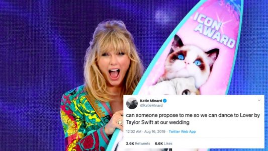 """These Tweets About Taylor Swift's Song """"Lover"""" Are Everything"""