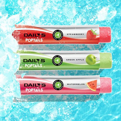 Daily's Poptails Frozen Alcoholic Pops Are Wine-Based, Fruity Treats