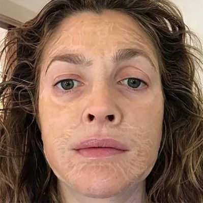 Drew Barrymore Shares Korean Face Mask Secret On Social Media