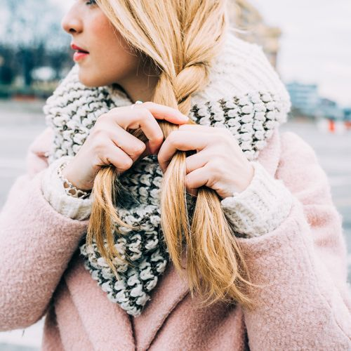 Quenching Thirsty Winter Hair