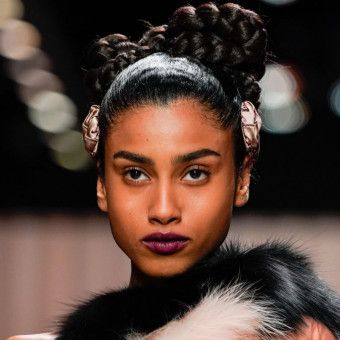 The Wildest Hair and Makeup Looks from Milan Fashion Week