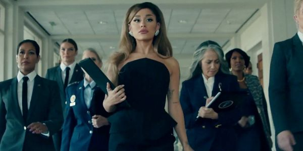 "These Tweets About Ariana Grande's ""Positions"" Video Point Out A Deeper Meaning"