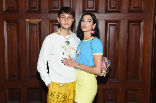 Dua Lipa's Engagement Ring At Marc Jacobs' NYFW Show Might Not Be What You Think