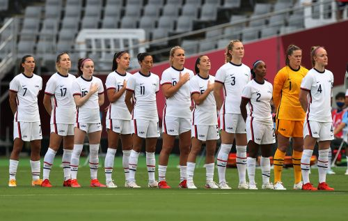 Why The US Women's Soccer Team Wasn't At The 2021 Olympics Opening Ceremony