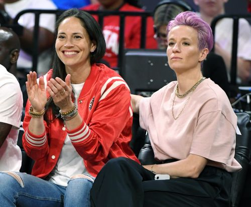 Megan Rapinoe's Comments About Sue Bird Flag Bearing For Team USA Are Sweet