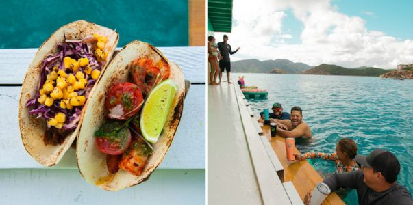 Lime Out's Floating Taco & Cocktail Bar Will Upgrade Your Next Trip To The Caribbean
