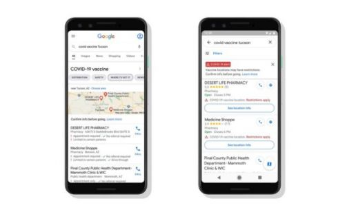 Searching for vaccine information? Google wants to make it easier to find