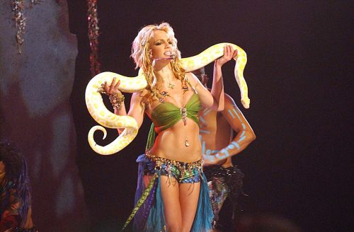 'Tiger King's Doc Antle Was In Britney Spears' 2001 VMAs Performance & I'm SHOOK