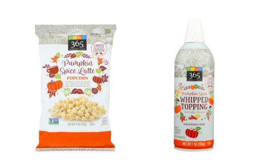 Whole Foods Market's Fall 2019 Offerings Include Pumpkin Spice-Flavored Whipped Topping & Popcorn