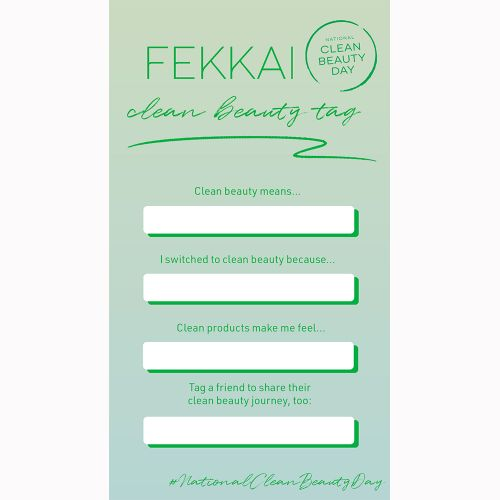 FEKKAI Announces Annual Clean Beauty Day