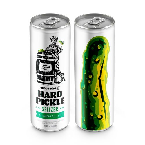 Where To Buy Hard Pickle Seltzer From BrüMate & Crook & Marker