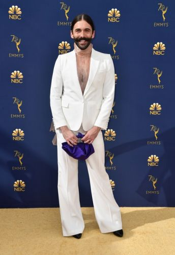 Jonathan Van Ness' 2018 Emmy Awards Look Was Sheer Perfection - Period