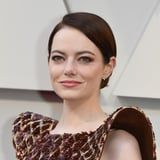 Emma Stone Is Wearing Flowers on Her Face, and It's the Definition of Spring Beauty