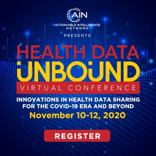 Health Data Unbound -Virtual Conference: November 10-12, 2020