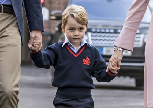These Photos Of Prince George For His Sixth Birthday Show Off His Adorable Missing Teeth
