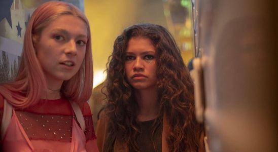The Poster For 'Euphoria's Christmas Special Teases Rue & Jules' Reunion