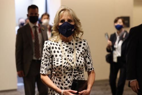 Jill Biden's Outfit At The 2021 Olympics Opening Ceremony Is So Elegant