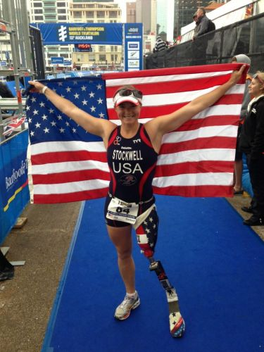 Two-Time Paralympic Triathlete Melissa Stockwell on Staying Positive, Games Training and the Importance of a Wellness Routine