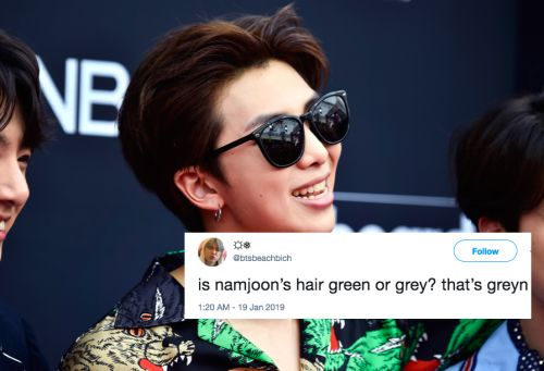 RM From BTS' New Hair Color In Singapore Is Playing Tricks On Fans' Eyes