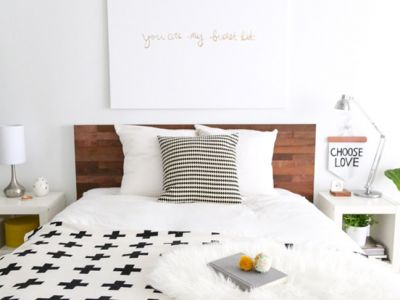 33 Genius DIY Headboards You'll Want in Your House Now