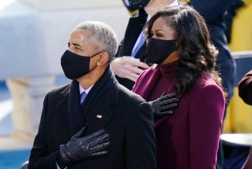 Barack & Michelle Obama's Inauguration Day 2021 Body Language Is Strong As Ever