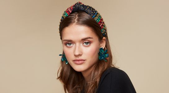 The Lele Sadoughi x J. Crew Holiday Collection Has Festive Accessories Galore