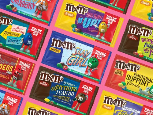 Here's Where To Buy M&M's Message Packs For 2021 With Spotify Playlists & Cute Sayings